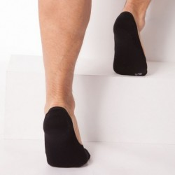 2-Pack of Invisible Liner Socks - Black