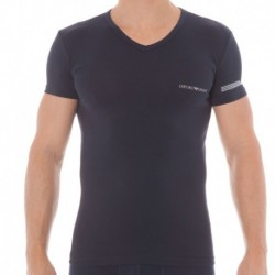 Fancy Color Play T-Shirt - Navy