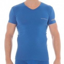 Fancy Color Play T-Shirt - China Blue