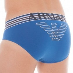 Fancy Athletics Big Eagle Brief - China Blue