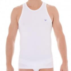 Fancy Athletics Big Eagle Tank Top - White
