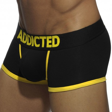 Basic Colors Boxer - Black - Yellow