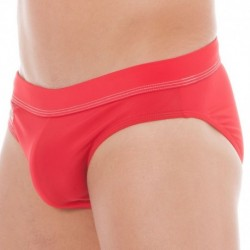 Hero Lycra Swim Brief - Red
