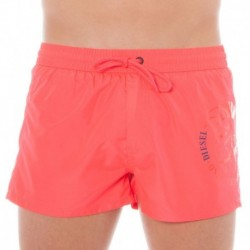 Fold And Go Swim Short - Pink