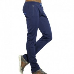Light Double Face Pants - Navy