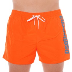 126 Swim Short - Neon Orange