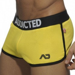 Addicted Short Rocky Double Mesh Jaune