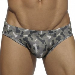 Does Size Matter Swim Brief - Camouflage
