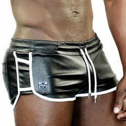 TOF Delux Cruise Short - Black - White