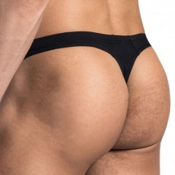 RED 1666 Mini Thong - Black