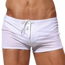 Ace Swim Boxer - White