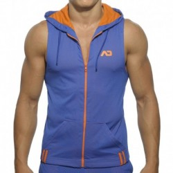 Loop Mesh Hoody - Royal