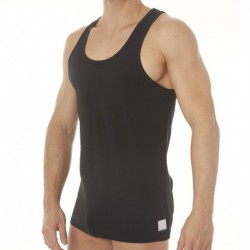 Calvin Klein 2-Pack ID Lounge Tank Tops - Black