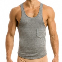 Mohair Tank Top - Grey