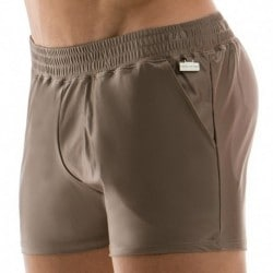 Short de Bain Elegant Sable
