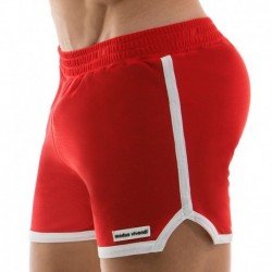 Short de Bain Sporty Rouge