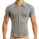 Mohair Shirt - Grey