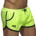 Addicted Short de Bain Rocky Jaune