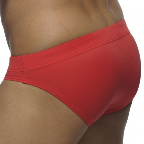 Slip de Bain Basic Colors Rouge