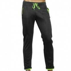 Light Double Face Pants - Black