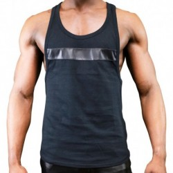 Open Tank Top - Black