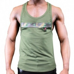 Commando Tank Top - Khaki