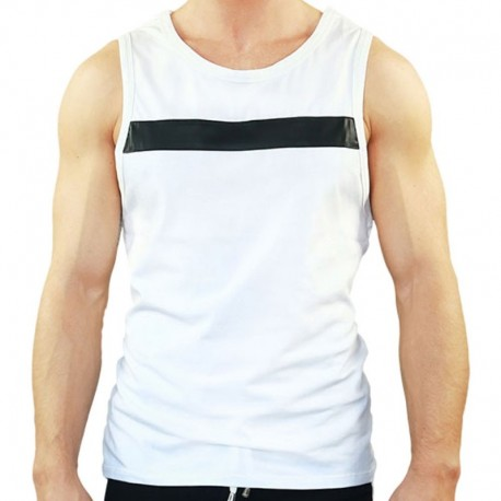 TOF Player Tank Top - White