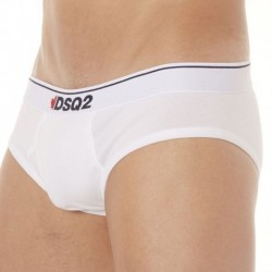 131 Cotton Brief - White