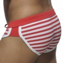 Slip de Bain Barcelona Pique Sailor Rouge