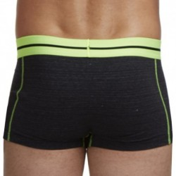 In-Training Boxer - Charcoal - Green