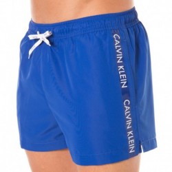 Short de Bain ID Logo Tape Royal