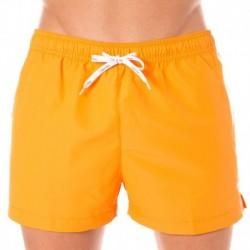 Short de Bain ID Logo Tape Orange