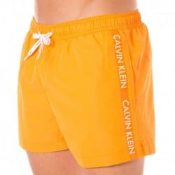 ID Logo Tape Swim Short - Orange