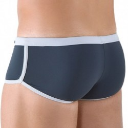 Shorty de Bain Gris Anthracite