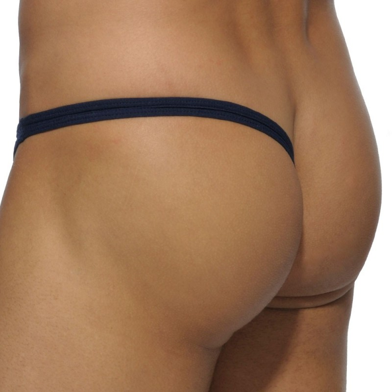 Addicted Basic Colors Lateral Thong - Navy