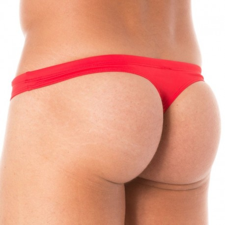 Roberto Lucca Swim Thong - Red
