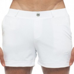 S60 Bondi Swim Short - White