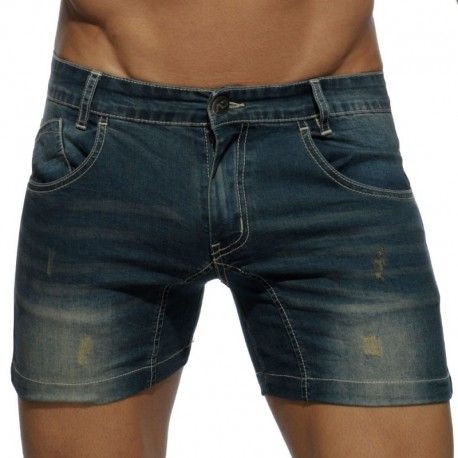 Addicted Short Jeans Marine