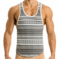 Modus Vivendi Graphic Tank Top - White