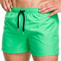 Grid Swim Short - Green