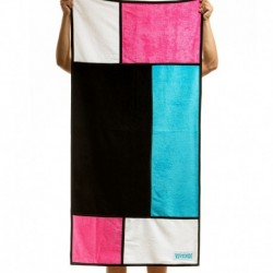 Mondrian Beach Towel - Neon