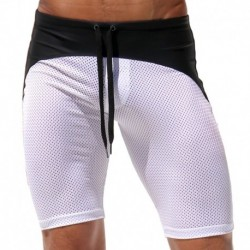 Short Cycliste Michka Blanc