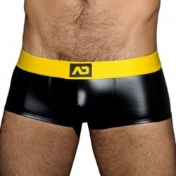 AD Fetish Fetish Rub Boxer - Black - Yellow