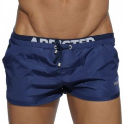 Addicted Short de Bain Double Waistband Marine