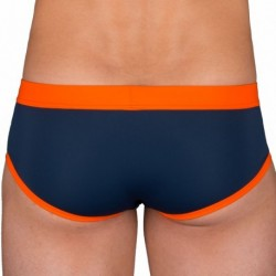 Slip de Bain Marine - Orange