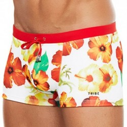 Hawaii Swim Boxer - Hibiscus