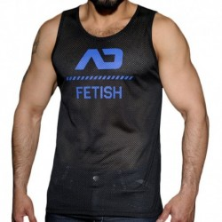 Mesh Tank Top - Black - Royal