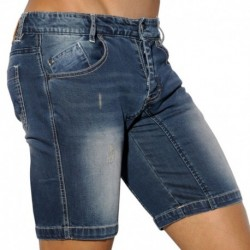 ES Collection Bermuda en Jeans Marine
