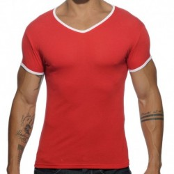 Addicted T-Shirt Basic Colors Rouge