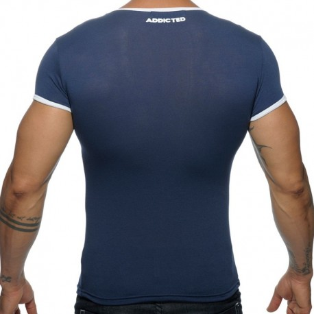Addicted Basic Colors T-Shirt - Navy